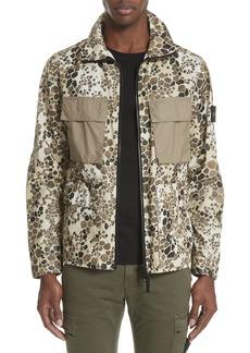 Stone Island Camo Military Field Jacket