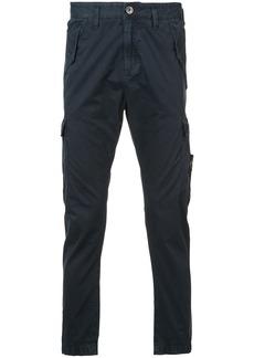 Stone Island cargo pocket chino trousers - Blue