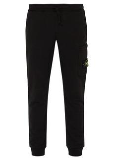 Stone Island Cargo-pocket cotton-jersey track pants