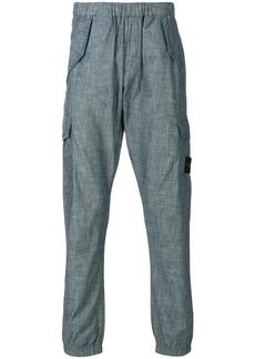 Stone Island cargo trousers - Blue
