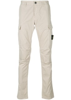 Stone Island classic fitted chinos - Nude & Neutrals