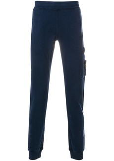 Stone Island fitted track pants - Blue