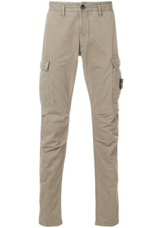 Stone Island classic fitted trousers - Nude & Neutrals