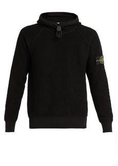 Stone Island Cotton-fleece hooded sweatshirt