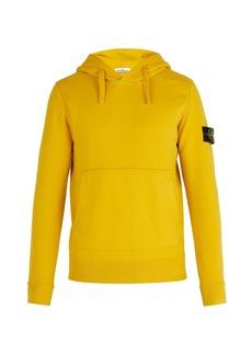 Stone Island Cotton-jersey hooded sweater