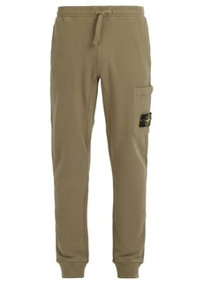 Stone Island Cotton-jersey track pants
