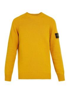 Stone Island Crew-neck wool-blend sweater