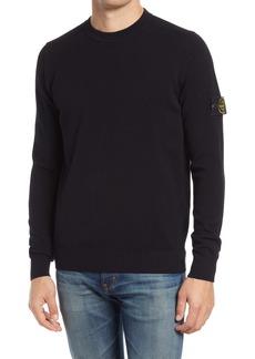 Stone Island Crewneck Wool Blend Sweater