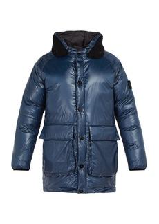 Stone Island Down-filled nylon hooded coat