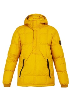 Stone Island Down-quilted hooded coat