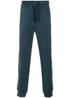 Stone Island drawstring fitted trousers - Green
