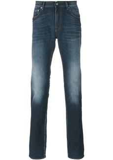 Stone Island faded denim jeans - Blue