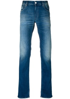 Stone Island faded slim-fit jeans - Blue