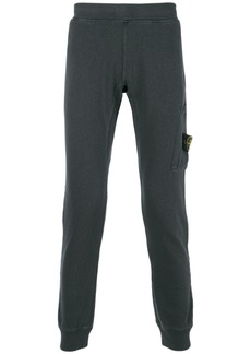 Stone Island fitted track pants - Grey