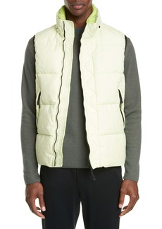 Stone Island Garment Dyed Hooded Down Vest