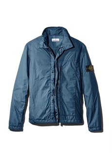 Stone Island Garment-Dyed Regular Fit Zip-Front Overshirt - 100% Exclusive
