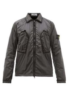 Stone Island Garment-dyed shell jacket