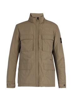 Stone Island High-neck technical jacket