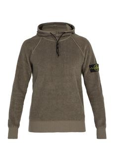 Stone Island High-neck terry-towelling sweatshirt