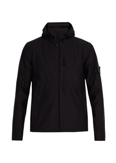 Stone Island Hooded technical jacket