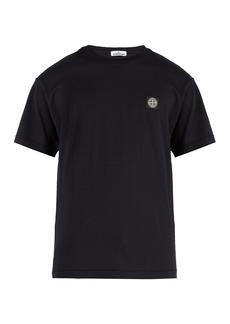 Stone Island Logo-patch cotton jersey T-shirt