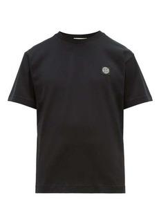 Stone Island Logo-patch cotton-jersey T-shirt