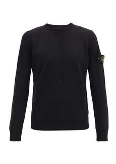 Stone Island Logo-patch wool sweater