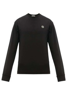 Stone Island Long-sleeved cotton-jersey T-shirt