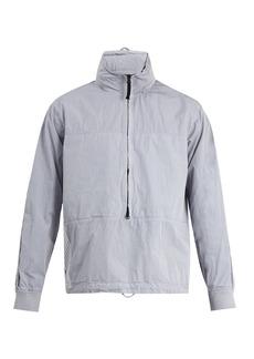 Stone Island Marina striped-panel cotton-blend jacket