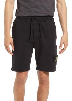 Stone Island Men's Fleece Cargo Shorts