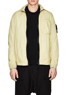 Stone Island XO Barneys New York Men's Washed Tech-Fabric Shirt Jacket