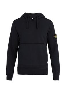Stone Island Mock-neck drawstring hooded sweater