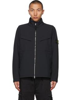 Stone Island Navy Light Soft Shell-R Jacket