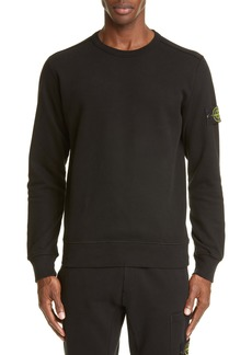 Stone Island Patch Crewneck Sweatshirt