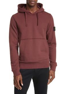 Stone Island Patch Hooded Sweatshirt