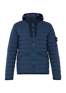 Stone Island Quilted down-filled hooded coat