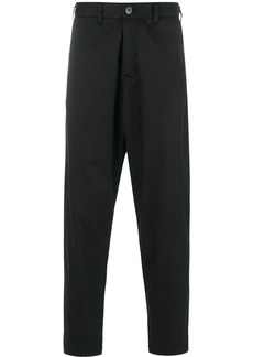 Stone Island Shadow Project Adjustable Wide Trousers with Articulation