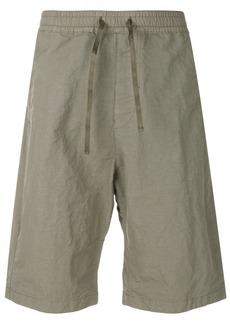 Stone Island Shadow Project drawstring shorts - Green