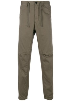 Stone Island Shadow Project drawstring trousers - Green