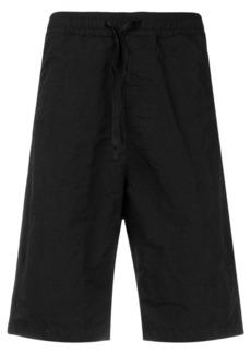 Stone Island Shadow Project elastic waist shorts - Black