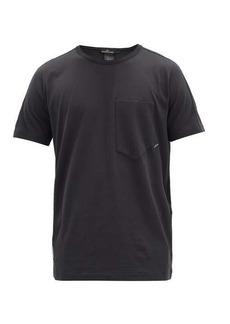 Stone Island Shadow Project Logo-print cotton-jersey T-shirt