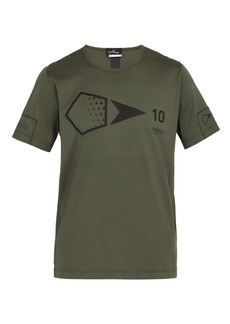 Stone Island Shadow Project Logo-print cotton T-shirt