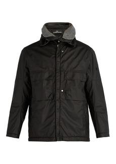 Stone Island Shadow Project Zip-up matte jacket
