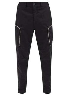 Stone Island Shadow Project Slim-leg cotton-blend cargo trousers