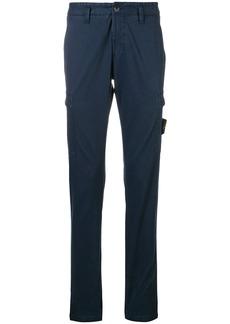 Stone Island slim cargo trousers - Blue