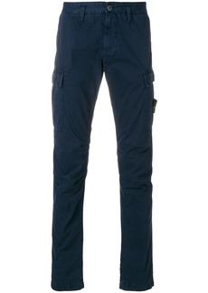 Stone Island slim fit cargo trousers - Blue