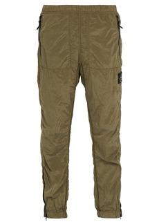 Stone Island Slim-fit nylon track pants