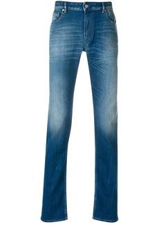 Stone Island slim fit stonewashed jeans - Blue