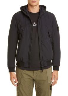 Stone Island Soft Shell Hooded Jacket