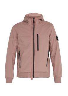 Stone Island Soft Shell-R waterproof hooded jacket